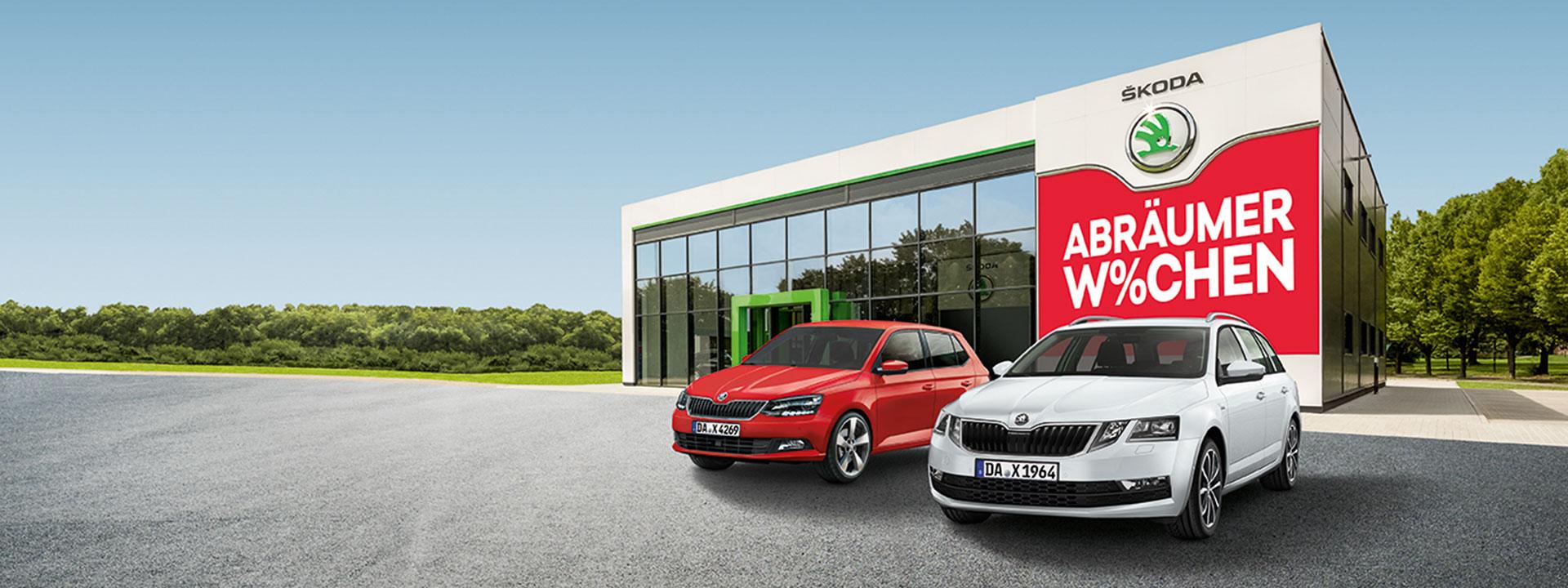 Škoda Fabia und Škoda Octavia | Introbild