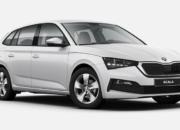 Škoda Scala Cool Plus Weiss Frontansicht
